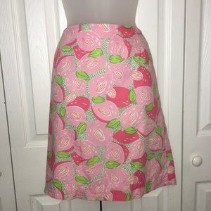 Lily Pulitzer Women's Floral Skirt